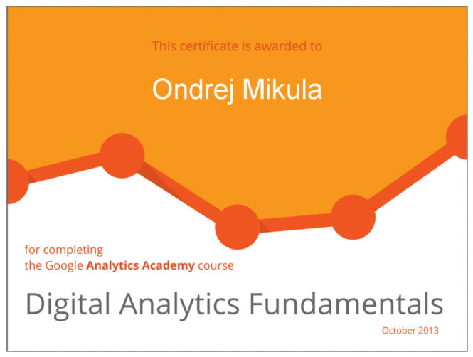 Google Digital Analytics 2013