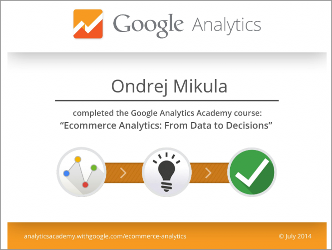 Google Ecommerce Analytics 2014