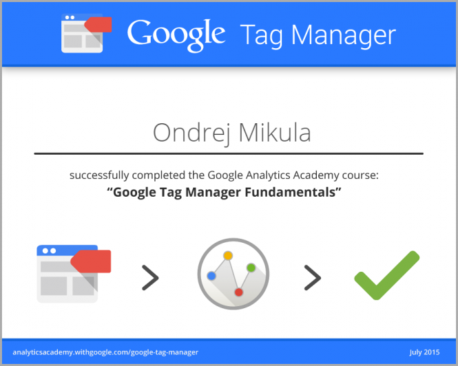 Google Tag Manager 2015