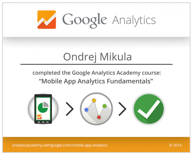 Google Mobile App Analytics 2014